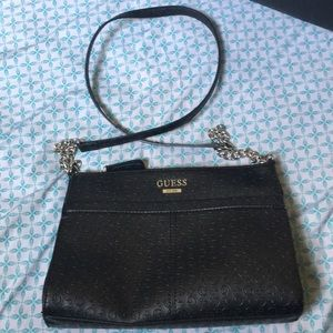 Like new Guess Leather crossbody bag